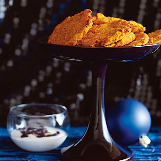 Cheesy Sweet Potato Crisps.