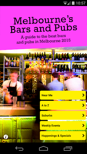 Melbourne's Bars and Pubs 2015