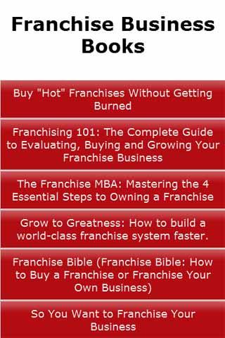 Franchise Business Books