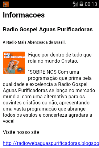 【免費音樂App】Radio Aguas Purificadoras 1.0-APP點子