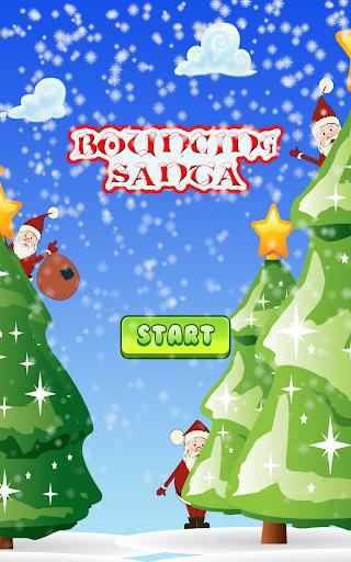 Bouncing Santa
