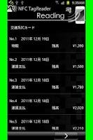 Screenshot of NFC TagReader