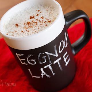 Skinny Eggnog Latte.