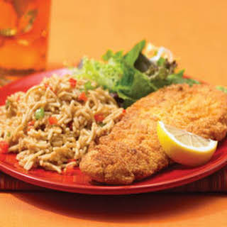 Southern-style Catfish With Dirty Rice.