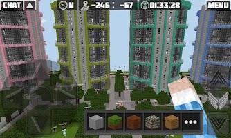Screenshot of Planet of Cubes Online