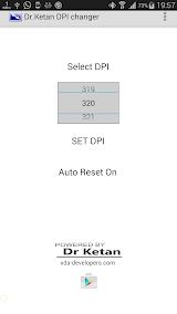 DPI Changer [Root] App-Download APK (com ketan dpichangerpro