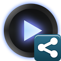 PowerAMP Share Widget logo