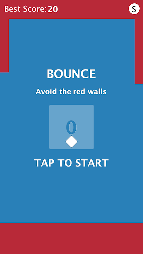 Dot Bounce avoid the red walls