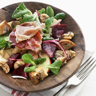 Autumn Chestnut Salad.