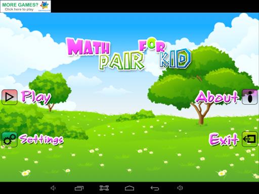 Math Pair For Kids