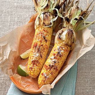 Grilled Cheesy Corn
