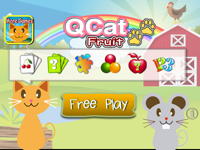 QCat - Toddler game : fruit - screenshot thumbnail
