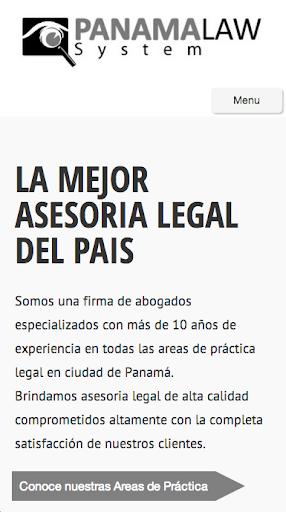 Panama Law System