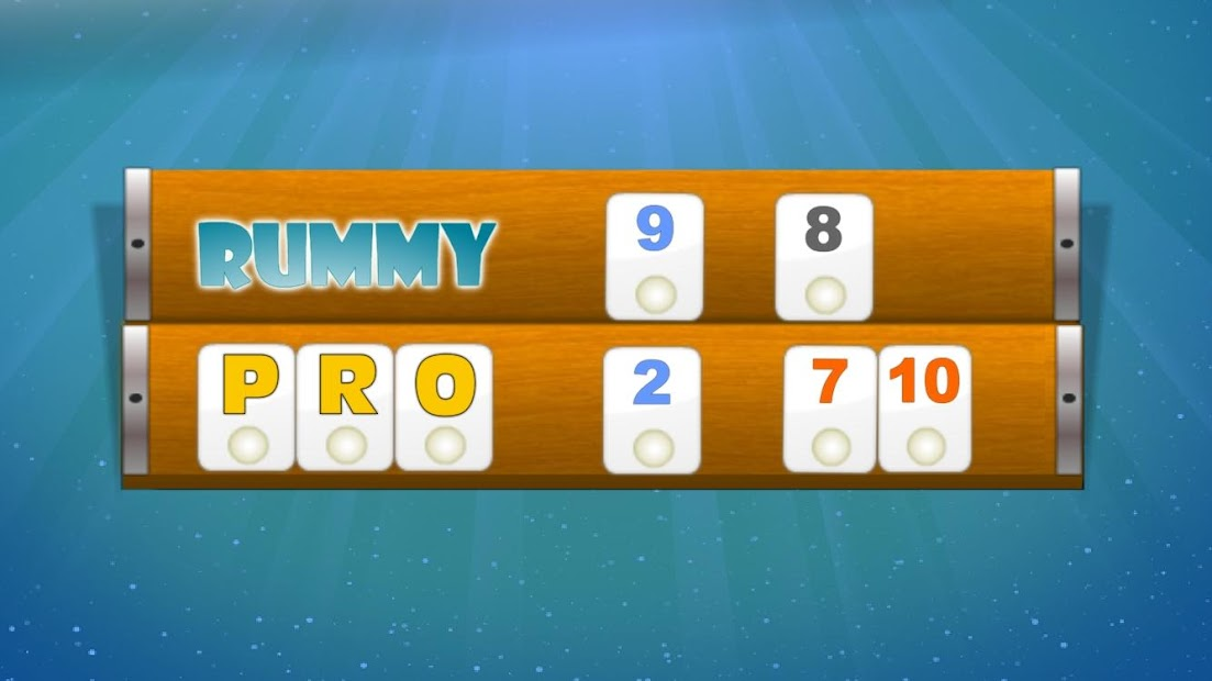 Rummy Pe Tabla
