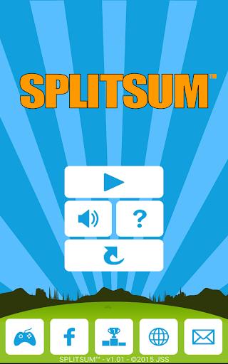 Splitsum - Numeric Puzzle Game