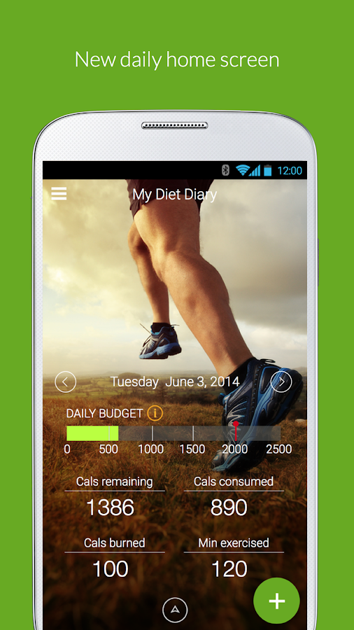 My Diet Diary Calorie Counter - screenshot
