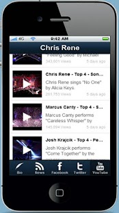 Chris Rene Fan App - screenshot thumbnail