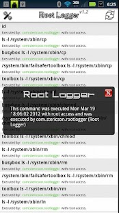Root Logger - screenshot thumbnail