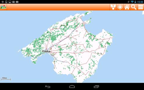 Mallorca Offline mappa Map - screenshot thumbnail