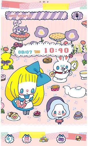 AliceTheme-Wonderland TeaParty 1.0 Windows u7528 1