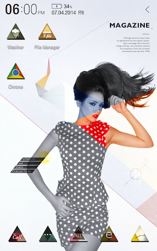 Magazine Atom Theme
