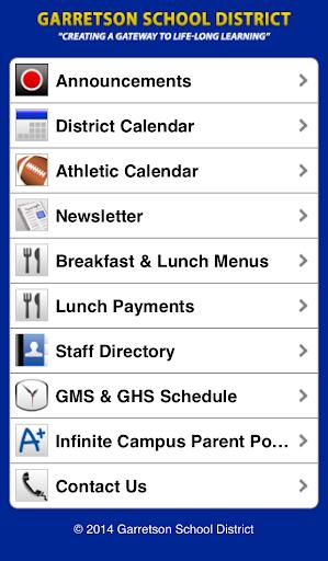 Garretson School District