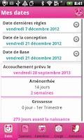 Screenshot of iGrossesse Autour de bébé