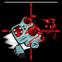 Zombie sniper icon