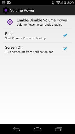 Power Button to Volume Button