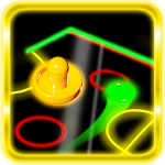 Air Hockey Glow 1.1 Apk