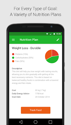 Calorie, Carb & Fat Counter  screenshots 4