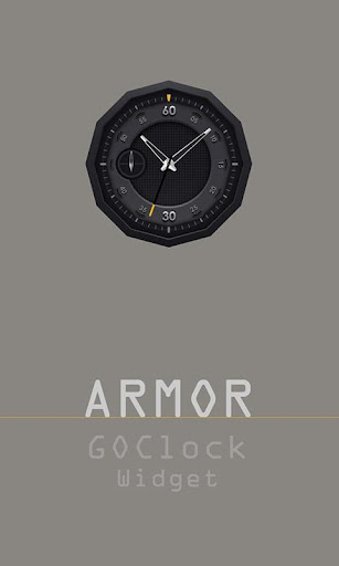 Armor - Clock widget
