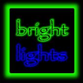 Bright Lights GoLauncher Theme