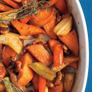 Honey-Roasted Vegetables.