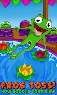 Frog Toss! - screenshot thumbnail