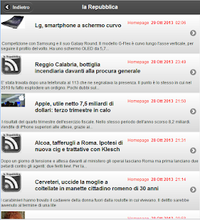la Repubblica - MikRss - screenshot thumbnail