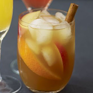 Winter Pimm's punch.
