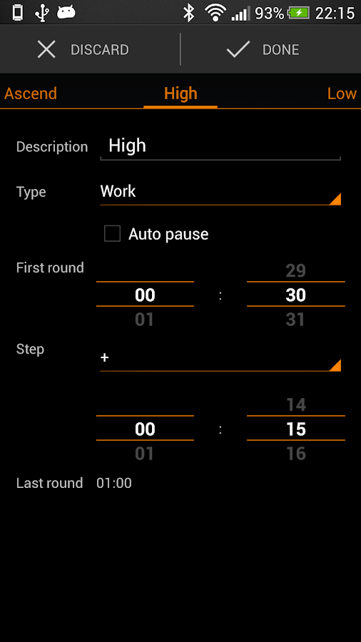 Impetus Interval Timer - screenshot