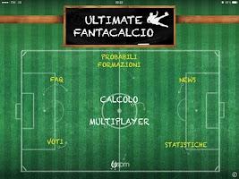 Screenshot of Ultimate Fantacalcio