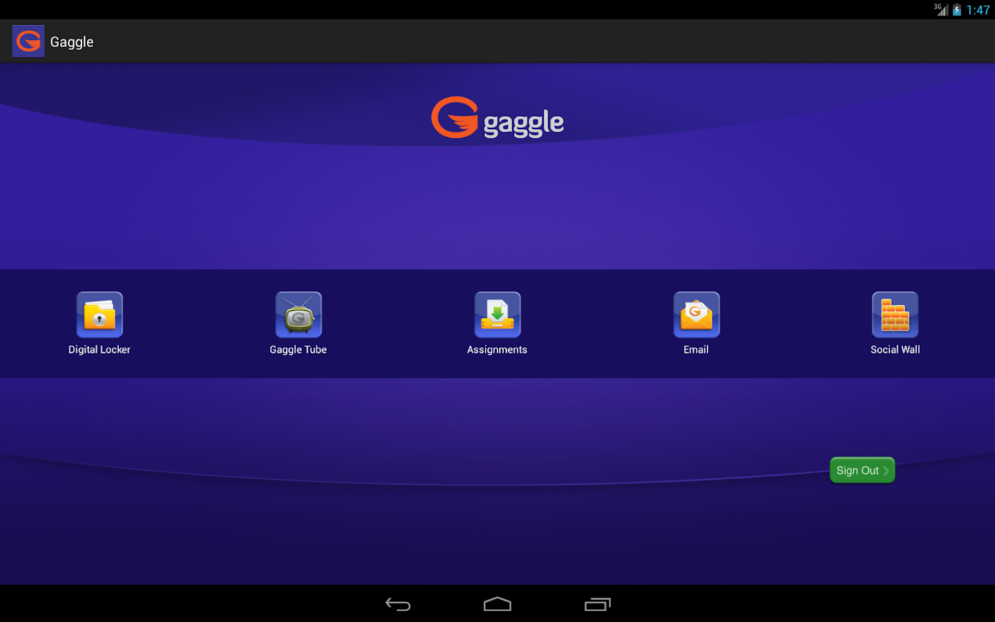 Gaggle - screenshot