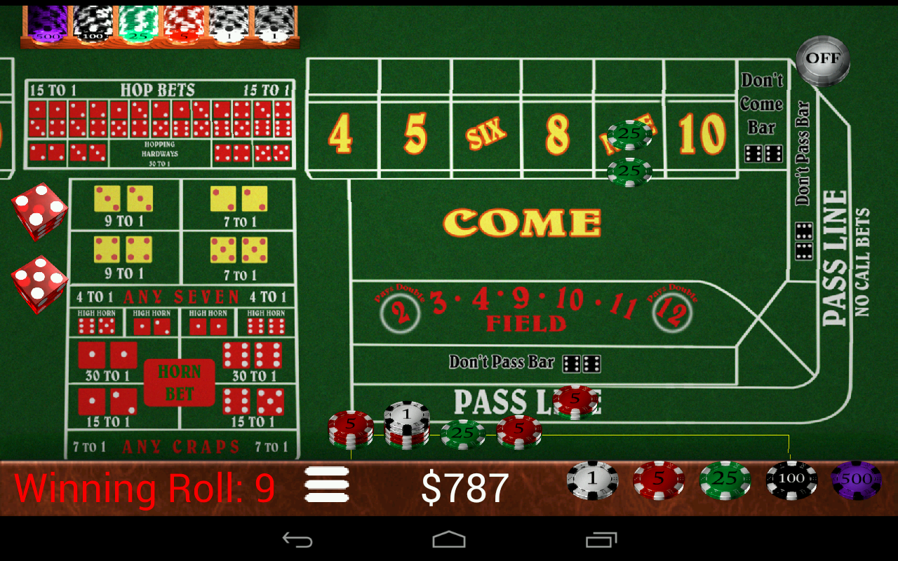 Craps Trainer Pro- screenshot