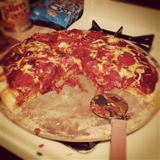 Grandma's Homemade Pizza ala 'Da Boys'.