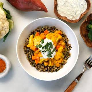 Vegetable Curry Quinoa Bowl.