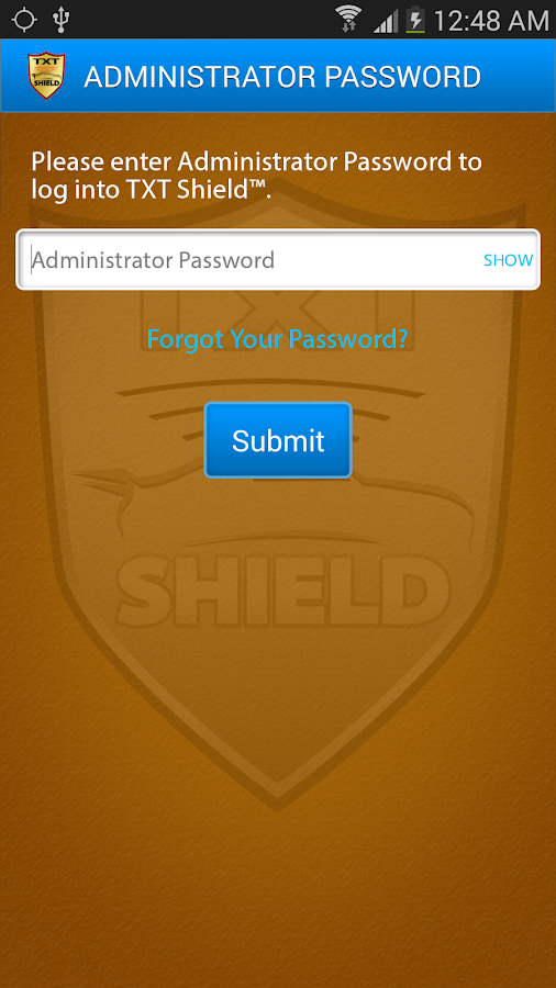 TXT SHIELD™ GOLD - screenshot