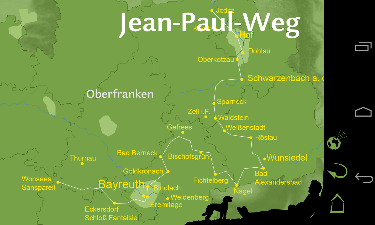 Dichterwege - Jean Paul – Screenshot