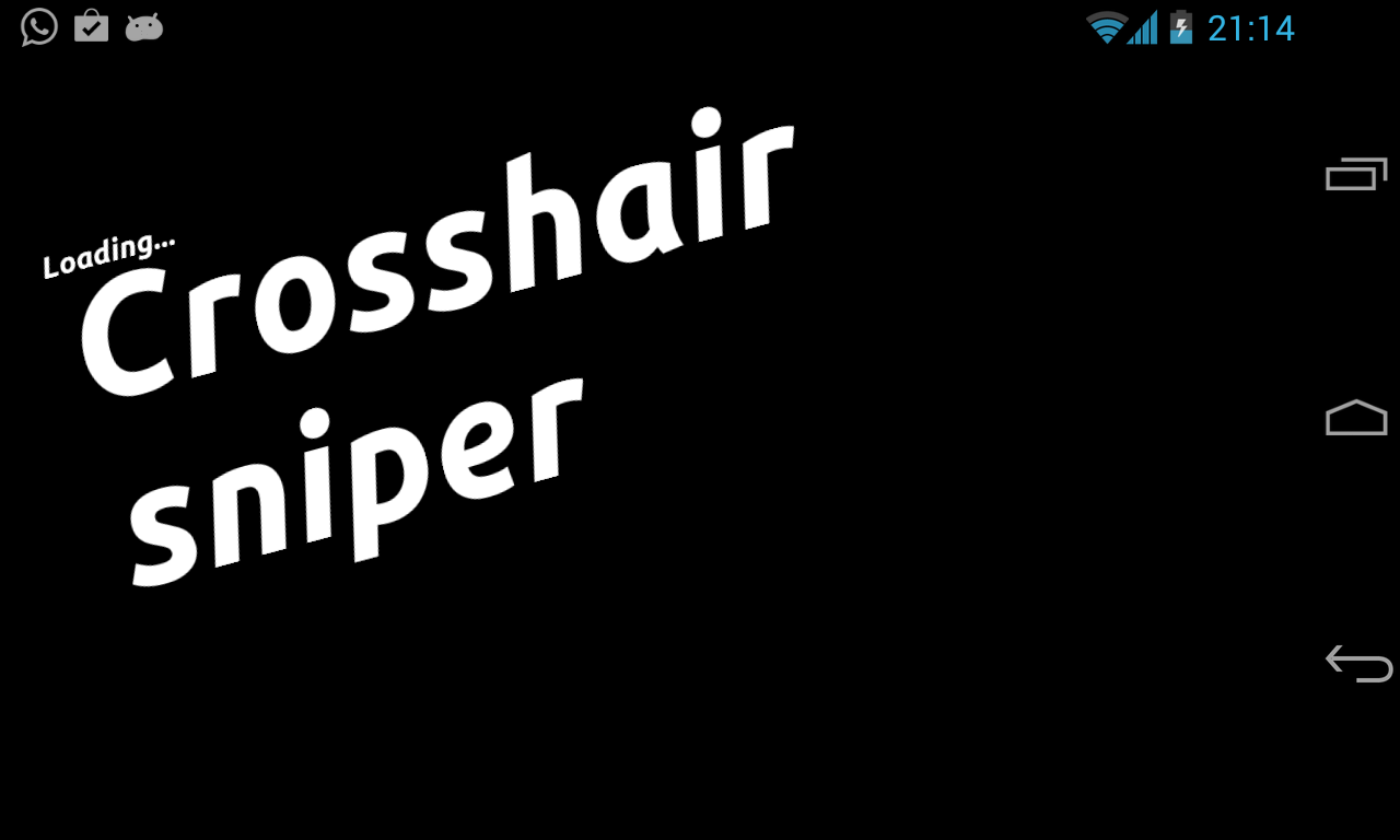 Crosshair sniper / Scope- screenshot