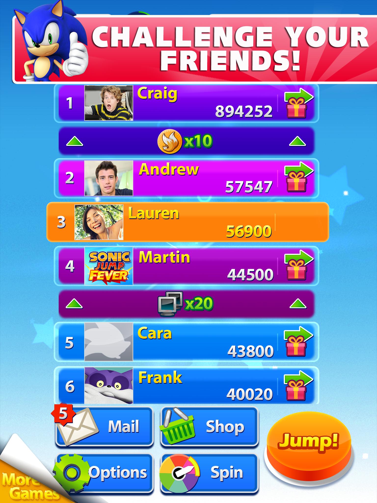 Sonic Jump Fever screenshot #7