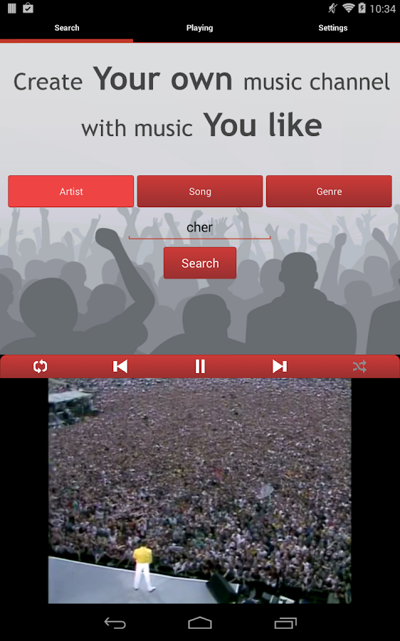 Tunebox Youtube Radio - screenshot
