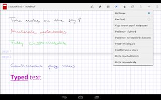 Screenshot of LectureNotes (Trial Version)