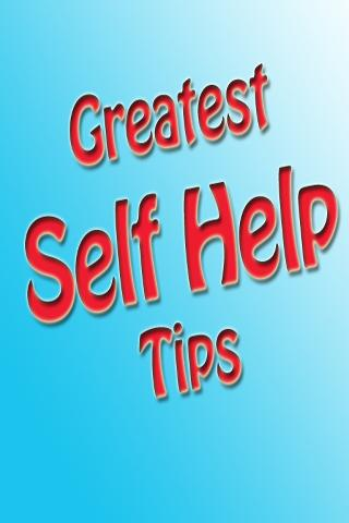Greatest Self Help Tips